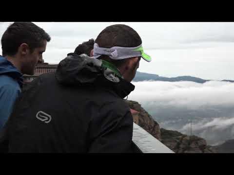 Cursa Vertical a Montserrat de Bombers amb Causa. Gedi Media per a Ràdio Manresa i Canal Taronja