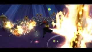 [KH2FM] Immolator Axel and Insane Hades vs 1000 Heartless