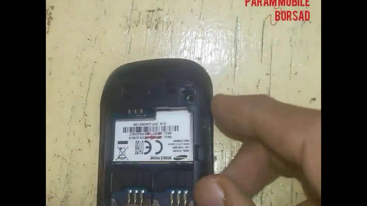 samsung GT-E1282T dead repair short solution - YouTube