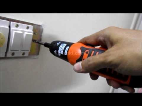 Unimet Battery-Operated Screwdriver