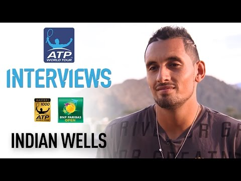 Kyrgios Reflects On Reaching Indian Wells 4R