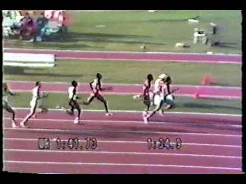 1984 Olympic 800m Semi Final - 1 - Ovett w Jones and Cruz