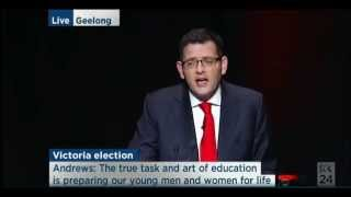 Victorian ALP Campaign Launch - Andrews (Oct 26, 2014)