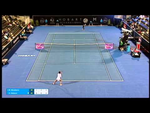Monica Niculescu vs Heather Watson - Match Highlights