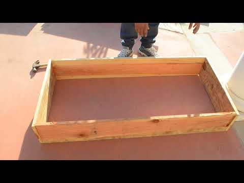 Build a raised bed for $15, in 10 minutes, for organic gardening, long lasting, inexpensive!
