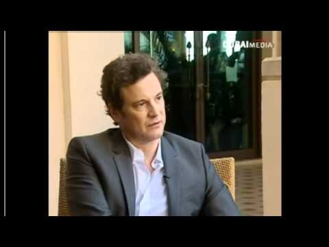 "Colin Firth Interview on Dubai TV about ""The King's Speech"""