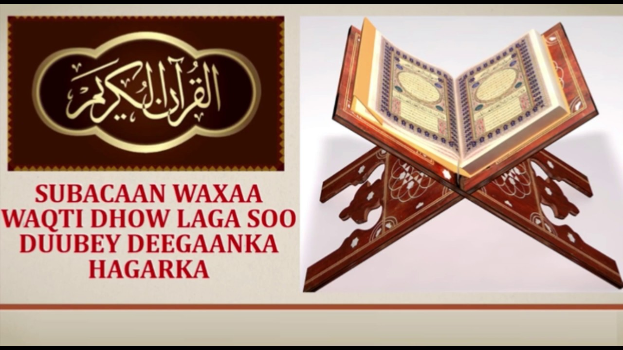 Download Jaamacadaha Diinta KGS Quraanka Sawdkan Ayaa Lagu Akhrin Jiray Taariikhda