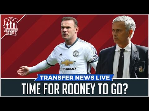 Mourinho's Rooney Exit Plan | Man Utd Transfer News