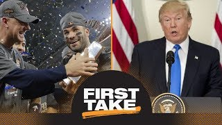 First Take reacts to Astros accepting invitation to White House | First Take | ESPN