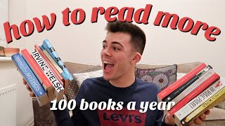 HOW TO READ MORE!! h๐w i read 100 books a year 📚