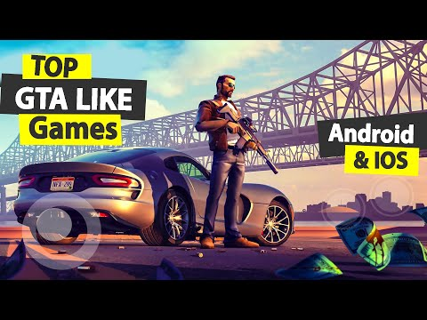 Top 10 Games Like GTA 5 For Android & IOS | Top Gangsta Games