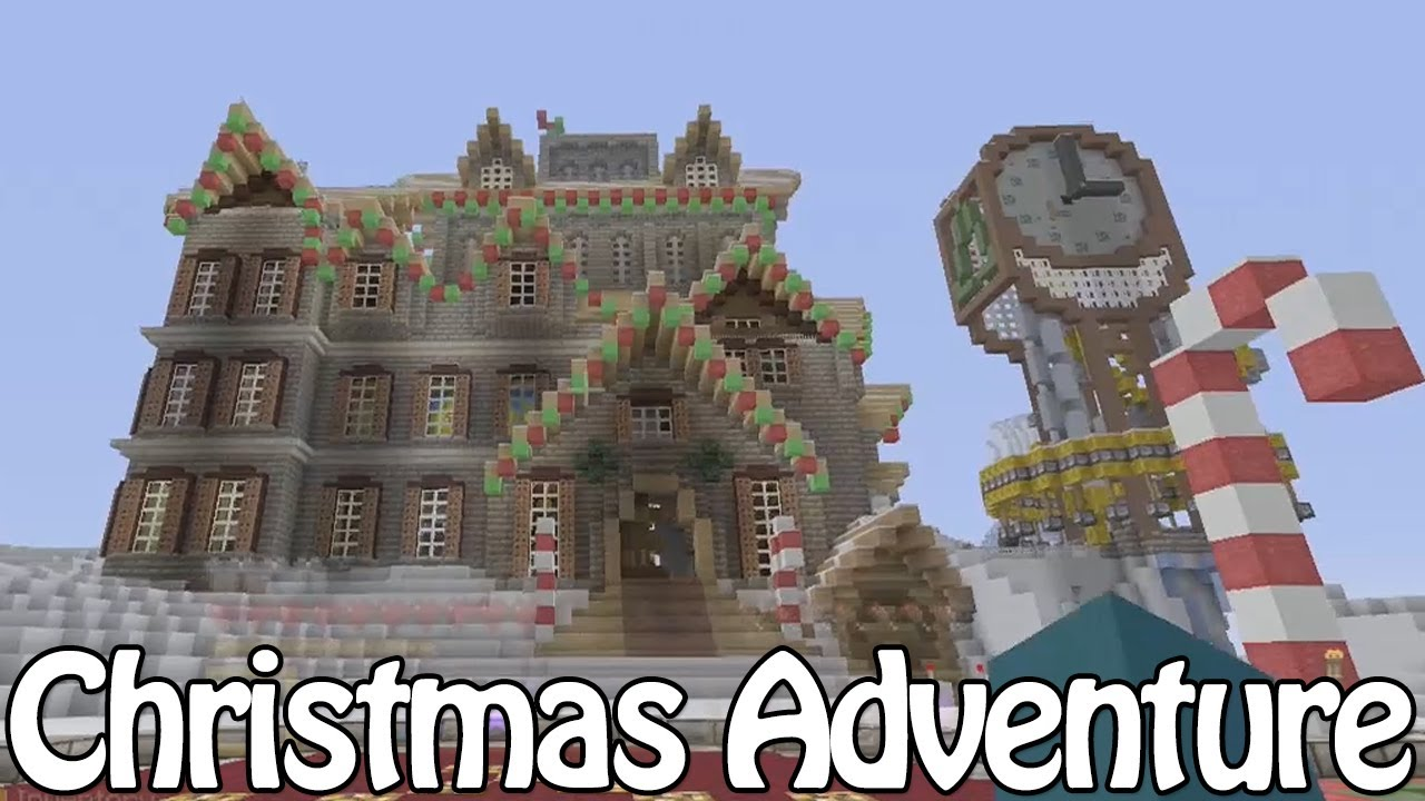 Minecraft Christmas Map.Minecraft Xbox Christmas Adventure Map Download