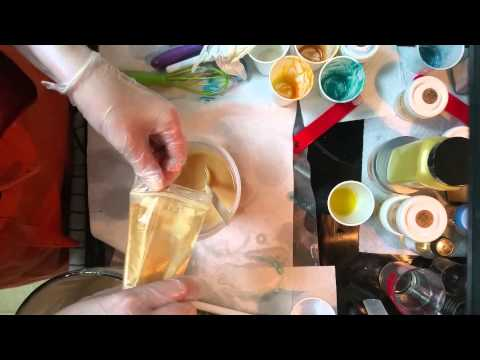 The making of a luxury cold process soap, Summer Days. Part 1