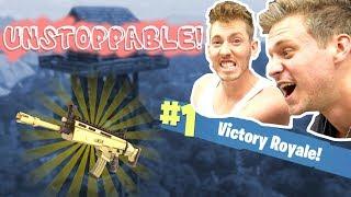 VICTOIRE IMPARABLE ROYALE FORTNITE BLITZ! (DONNER!)