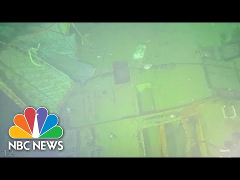 Missing Indonesian Submarine Found Broken Into At Least Three Parts | NBC News