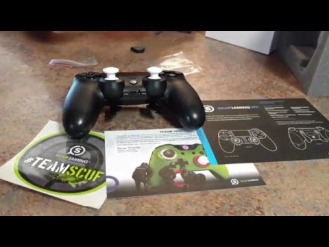 Got my SCUF CONTROLLER today let's check it out