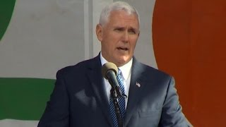Pence's entire 'March for Life' rally speech