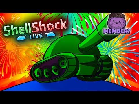 1000 POINT GAME! - NEW Shellshock Live Update!