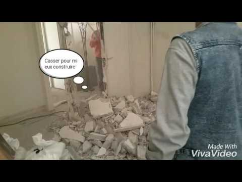 Dpose DUne Cloison Non Porteur  Youtube