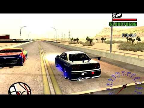 GTA San andreas Drag Race Mode