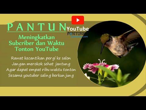 Kumpulan Tips Meningkatkan Subcriber dan Waktu Tonton Youtube | Motivasi melalui Pantun
