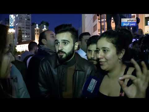 لبنان ينتفض - قطع طريق الرينغ من قبل المتظاهرين باتجاه واحد  - 17:00-2019 / 12 / 4
