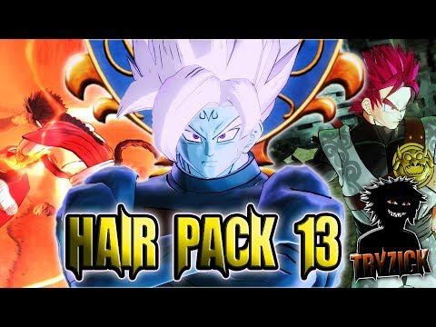Merged Zamasu Cac Hair Hair Pack 13 Dragon Ball Xenoverse 2 Mods