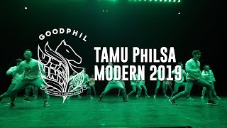 TAMU PhilSA Modern Dance // Goodphil 2019 [Front Row]