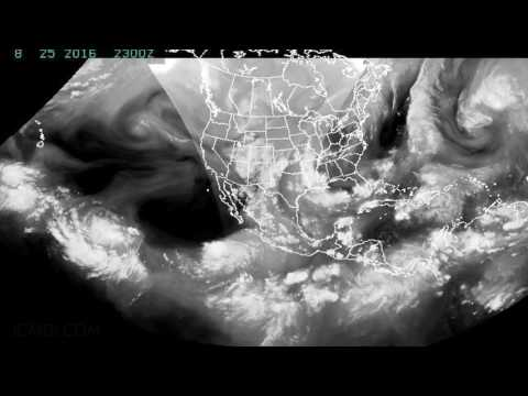 GOES Satellite IR Time Lapse July-August 2016 V20507