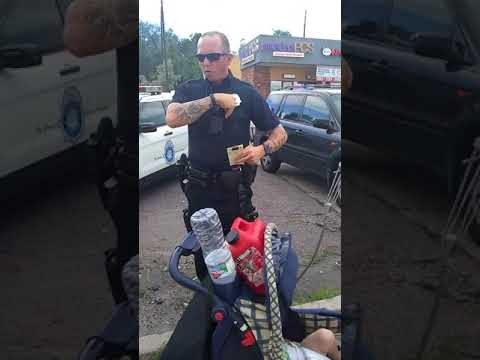 Owned denver corporal. Police misconduct. Stop and identify