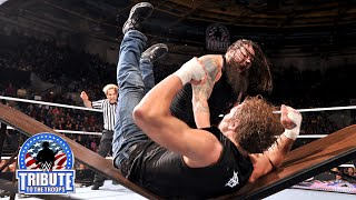 Dean Ambrose vs. Bray Wyatt Bootcamp Match: Tribute to the Troops 2014