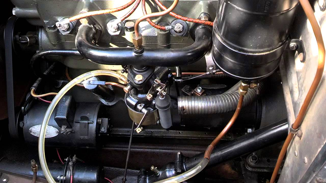 small resolution of 1931 chevy carburetor run test