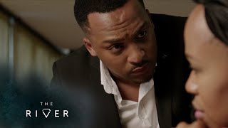 Lindiwe attempts to bribe Sihle – The River | 1 Magic