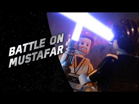 Battle On Mustafar - LEGO® Star Wars™ Battle Story