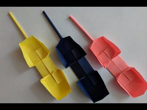 Оригами телефон как сделать