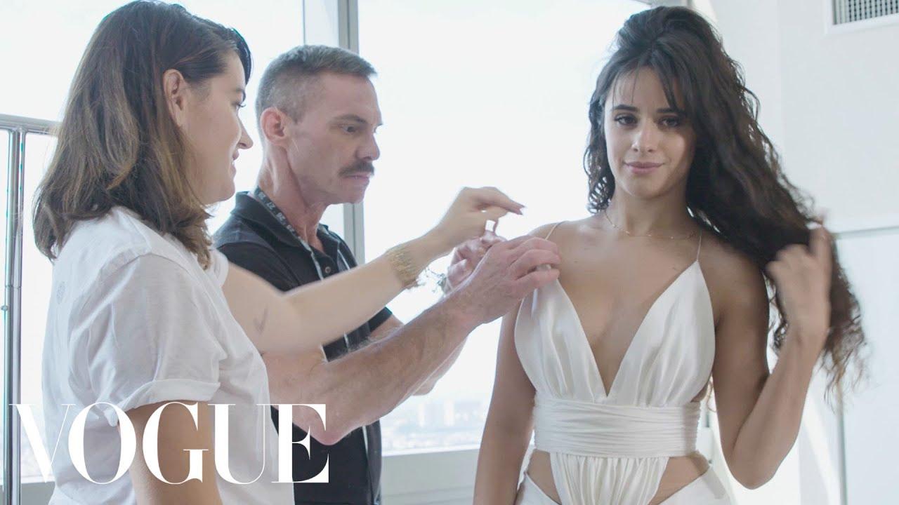 Download Camila Cabello Gets Ready for the VMAs | Vogue