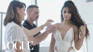 Camila Cabello Gets Ready for the VMAs | Vogue