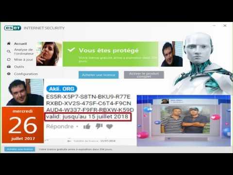 Comment Activer Eset Nod32 Antivirus 9 Et 10 Cl 233 D