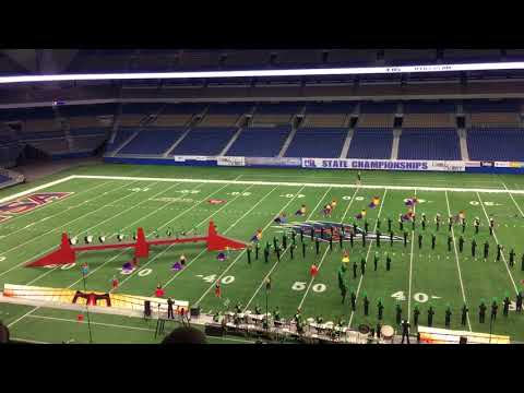 Birdville Mighty Hawk Band Class 5A UIL State Championship 2017 'Bridged'