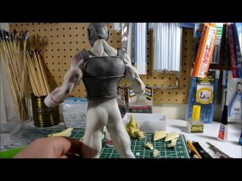 Sculpting 1/6 Scale Vegeta