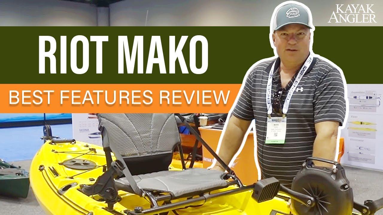 Kayak Distribution New Mako With Splash Pedal Drive ICAST 2018