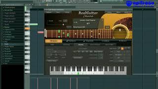 Membuat Gesekan Suara Gitar Akustik ( RealGuitar ) di FL Studio