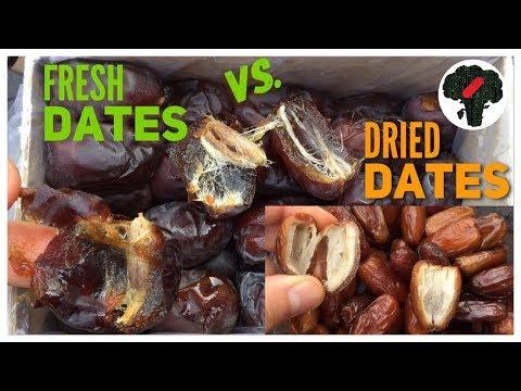 Fresh Dates Vs Dried Dates