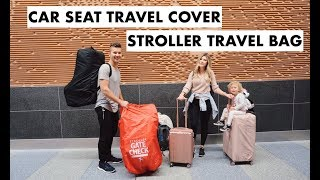 Traveling with a Toddler Car Seat Stroller Cover HAWAII Vlog Pt. 1