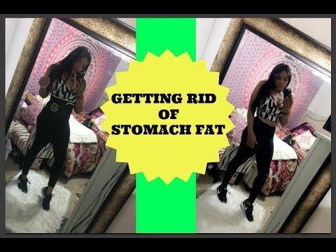 how to get rid of stomach fat youtube