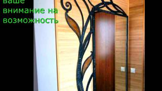 Кованая рама для зеркала на стене изготовление под заказ в Днепропетровске Днепре