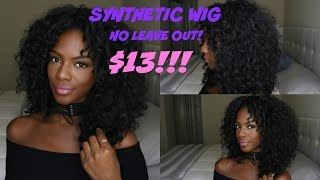 Best Vacation Hairstyle! Synthetic Wig - No Leave Out!