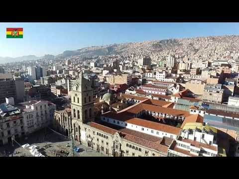 BOLIVIA - LA PAZ - from the air