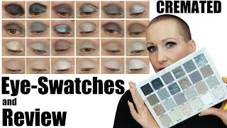 Jeffree Star CREMATED Palette | EYE SWATCHES and Review