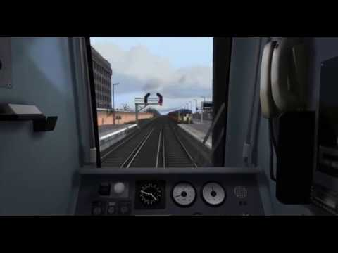 Train Simulator 2017: Portsmouth Harbour to Woking Timelapse |